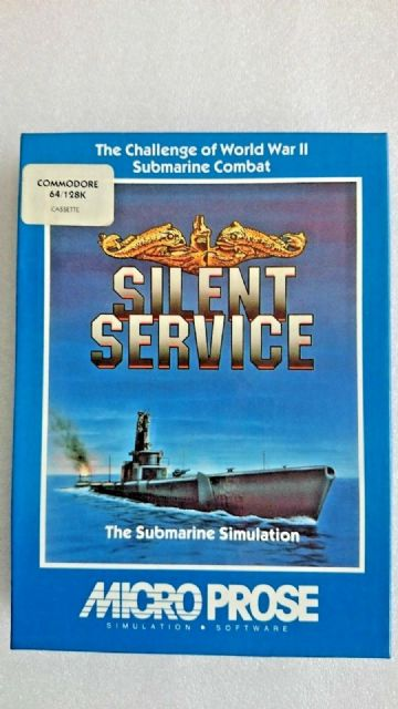 Silent Service   Commodore 64  Classic Game